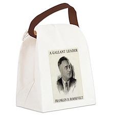 Cute Roosevelt Canvas Lunch Bag