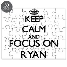 Keep calm and Focus on Ryan Puzzle