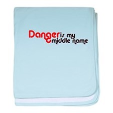 Cool Danger baby blanket