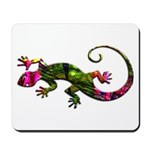 Green Purple Gecko Mousepad