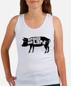 Praise The Lard,Pig Humorous Tank Top
