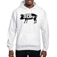Praise The Lard,Pig Humorous Hoodie