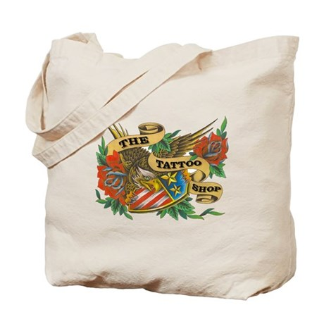 4th of July American Eagles Tote Bag