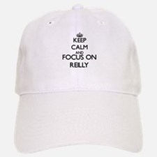 Keep calm and Focus on Reilly Baseball Baseball Cap