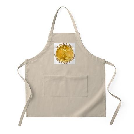 Gold Liberty Gold Motto BBQ Apron