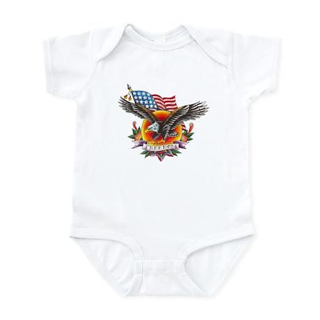 4th of July Screamin' Eagles Infant Bodysuit