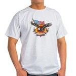 4th of July Screamin' Eagles Light T-Shirt