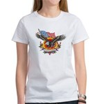 4th of July Screamin' Eagles Women's T-Shirt