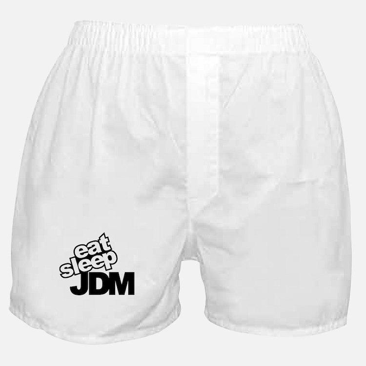 eat_sleep_JDM.jpg Boxer Shorts