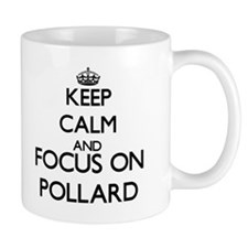 Keep calm and Focus on Pollard Mugs