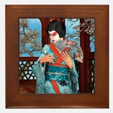 Geisha Framed Tile