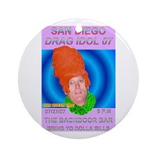 Salty Dogg Ornament (Round)