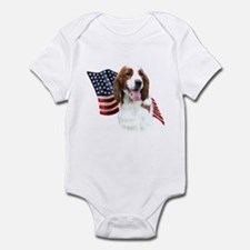 Welsh Springer Flag Onesie