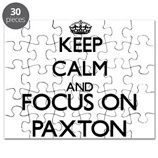 Keep calm and Focus on Paxton Puzzle