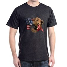 Welsh Terrier Flag T-Shirt