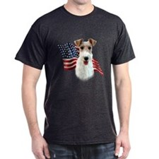 Wire Fox Flag T-Shirt
