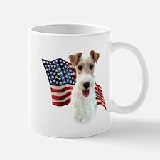 Wire Fox Flag Mug