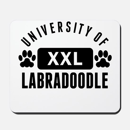 University Of Labradoodle Mousepad