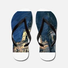 French Quarter Cathedral Flip Flops