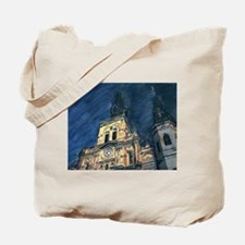 French Quarter Cathedral Tote Bag