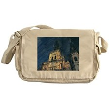 French Quarter Cathedral Messenger Bag