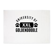 University Of Goldendoodle 5'x7'Area Rug