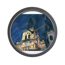 French Quarter Cathedral Wall Clock