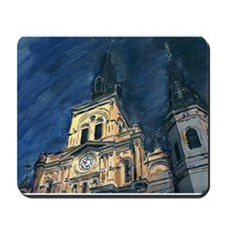 French Quarter Cathedral Mousepad
