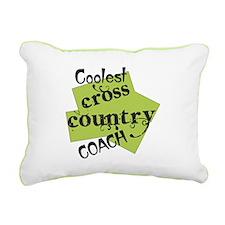 Coolest Cross Country Rectangular Canvas Pillow