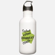 Coolest Cross Country Coach Water Bottle