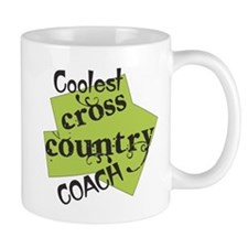 Coolest Cross Country Coach (right) Mugs