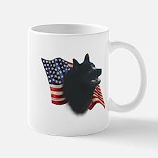 Schipperke Flag Mug