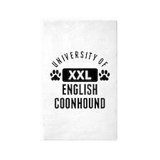 University Of English Coonhound Area Rug
