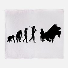 Concert Pianist Throw Blanket