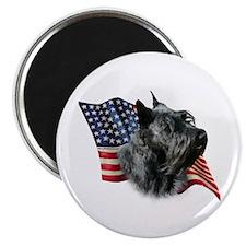 Scotty(blk) Flag Magnet