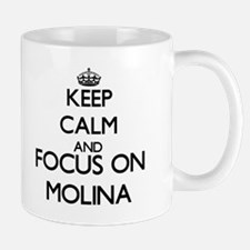Keep calm and Focus on Molina Mugs