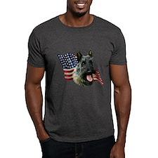 Scotty(brn) Flag T-Shirt