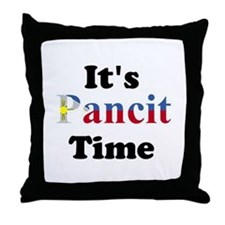 It's Pancit Time Throw Pillow