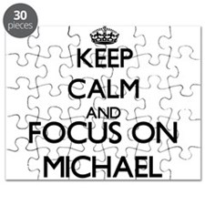 Keep calm and Focus on Michael Puzzle