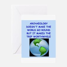 ARCHAEOLOGY Greeting Cards