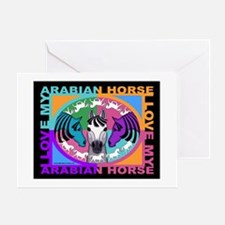 Graphically Equine Designs Arabian Greeting Cards