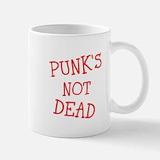 Punks not dead Mugs