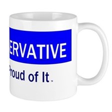 Conservative Slogan Small Mug