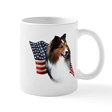 Sheltie(sbl) Flag Mug