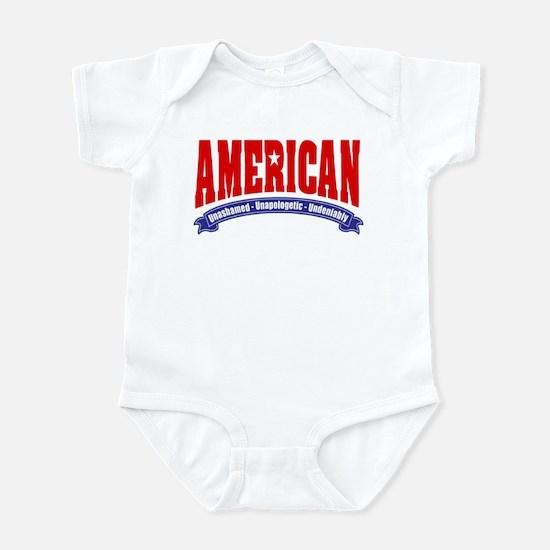 Undeniably American Infant Bodysuit