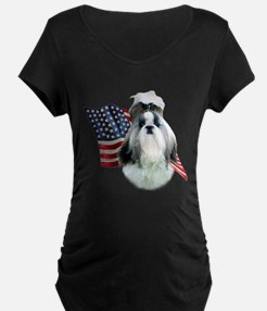 Shih Tzu Flag2 T-Shirt
