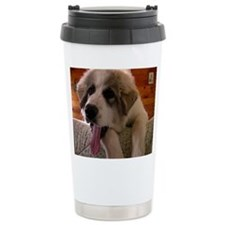 Great Pyrenees Puppy Travel Mug