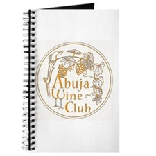 Abuja Wine Club With Grapes - Orange Journal