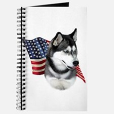 Husky(blk) Flag Journal