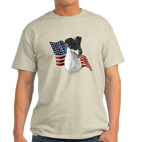 Smooth Fox Flag Light T-Shirt
